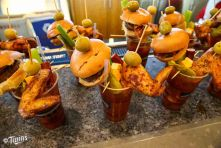 Hrbek's will feat. a new signature drink- the Buffalo Chicken Bloody Mary. Upgrade w/ addition of a burger slider.