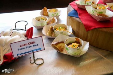 Fans can look for a true Loon Café experience (portable near Section 101) that will include the Pecos River Red Chili (topped with sour cream, green onions and shredded cheese, and served with a side of Texas toast).