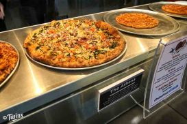 Pizza Lucé featured in the new Minnie & Paul's.