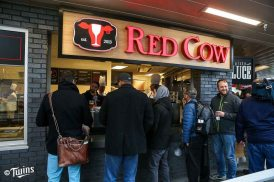 Red Cow featured in the new Minnie & Paul's.